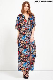Glamarous Kimono Style Maxi Dress