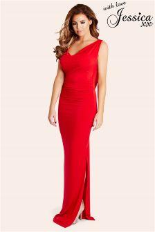 Jessica Wright Cowl Neck Dress