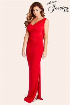 Jessica Wright Cowl Neck Dress