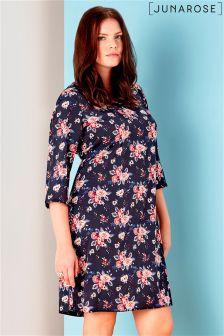 Juna Rose Printed Shift Dress