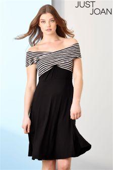 Just Joan Bardot Stripe Top Dress