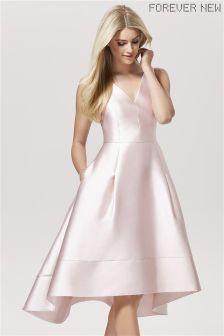 Forever New Dip Hem Prom Dress
