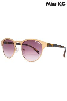 Miss KG Round Half Frame Sunglasses