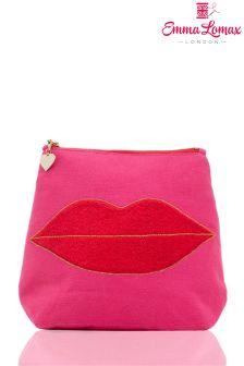 Emma Lomax Large Luscious Lips Washbag