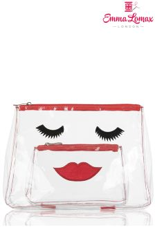 Emma Lomax Clear Make-up Bag Set