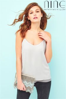 Nine By Savanna Miller Double Layer Cami