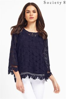 Society 8 2 in 1 Lace Top