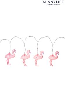 Sunnylife Flamingo String Fairy Lights