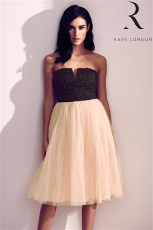 Rare Bandeau Skater Dress
