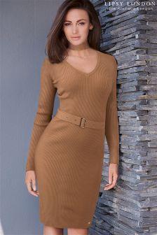 Lipsy Love Michelle Keegan Detachable Neck Tie Dress