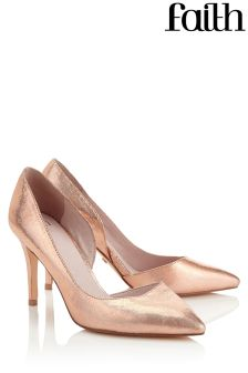 Faith Cliff Wide Court Heels