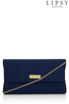 Lipsy Suedette Clutch Bag
