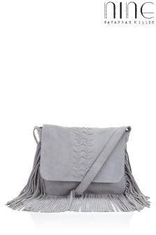 Nine By Savannah Miller Fringed Whiplace Saddle Bag