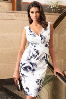 Lipsy Vip Rose Print Dress