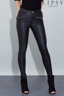 Lipsy Coated Skinny Jeans