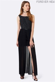 Forever New Pleated Maxi Dress