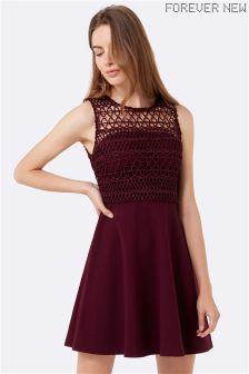Forever New Lace Top Dress