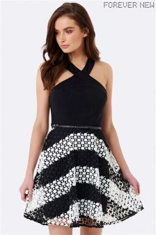 Forever New 2 In 1 Halter Neck Dress