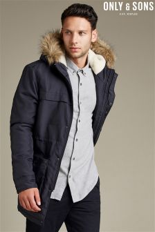 Only & Sons Outerwear Hooded Jacket