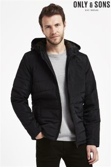 Only & Sons Hooded Puffer Jacket