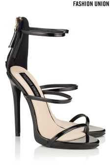 Fashion Union Barely There Strappy Heels
