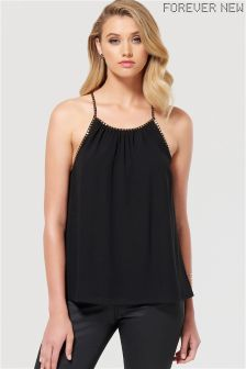 Forever New Strappy Embellished Cami Top