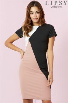 Lipsy Colour Block Dress