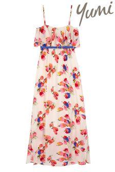 Yumi Girl Floral Maxi Dress
