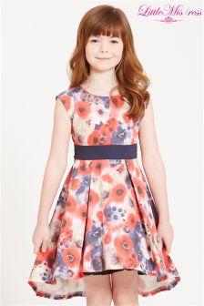 Little Misdress Floral Print Skater Dress
