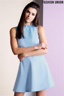 Fashion Union High Neck Dress