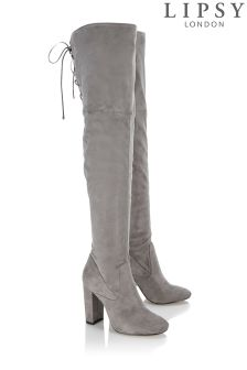 Lipsy Over The Knee Heeled Boots