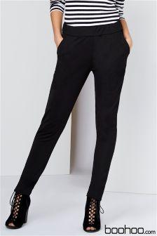 Boohoo Skinny Crepe 2 Pocket Trousers
