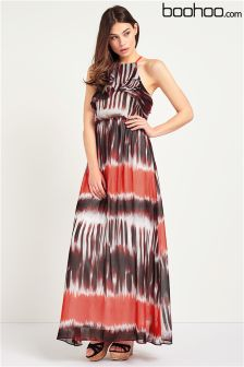 Boohoo Tie Dye Maxi Dress