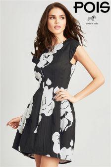 Pois Jacquard Dress