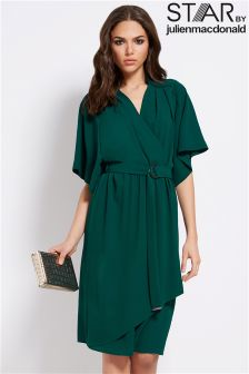 Star By Julien Macdonald Crepe Kimono Dress