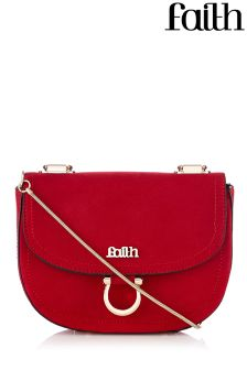Faith Bags Slinky Metal Chain Saddle Bag