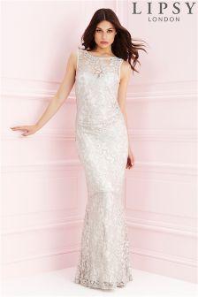 Lipsy Lace Maxi Dress