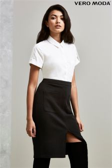 Vero Moda Split Front Pencil Skirt