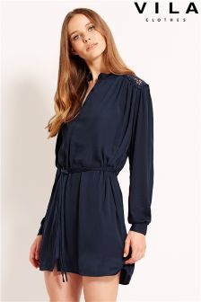 Vila Lace Detail Dress