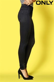 Only High Waist Skinny Jeans
