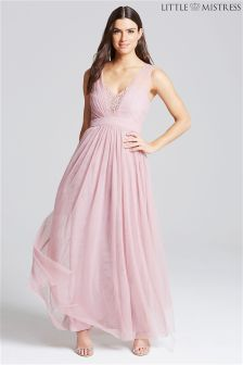 Little Mistress Jewel Bust Maxi Dress