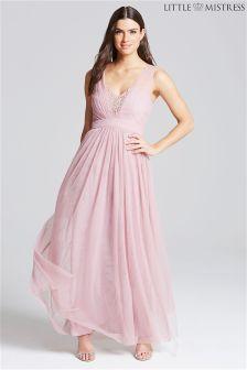 Little Mistress Jewel Bust Maxi Dress
