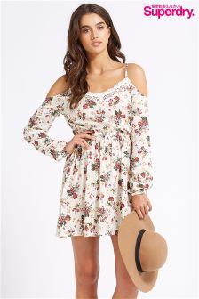 Super Dry Cold Shoulder Dress
