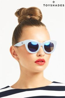Toy Shades Cat Eye Reflective Sunglasses