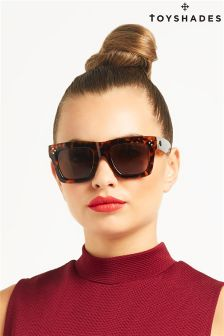 Toy Shades Square Tortoiseshell Sunglasses