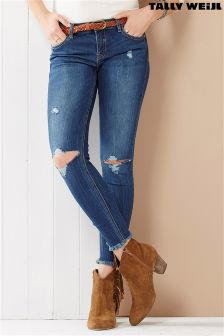 Tally Weijl Distressed Skinny Jean