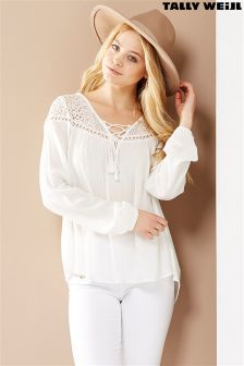 Tally Weijl Lace Insertblouse