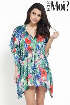 Pour Moi Jungle Fever Kaftan