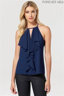 Forever New Waterfall Ruffle Cami