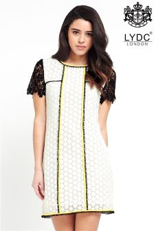LYDC Contrast Binding Lace Tunic